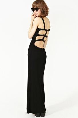 Nasty Gal Flashback Maxi Dress