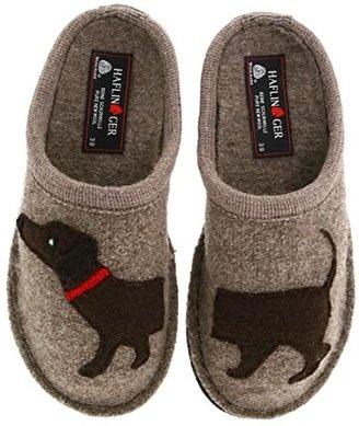 Haflinger Doggy Slipper (Beige) Women's Slippers