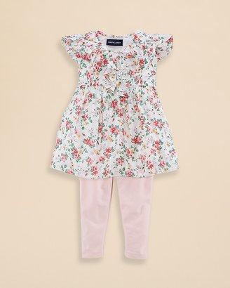 Ralph Lauren Infant Girls' Floral Tunic and Leggings Set - Sizes 9-24 Months