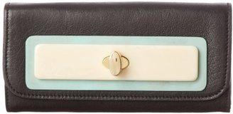 Orla Kiely Soft Sheepskin Leather Big Folded 13SBSSH128-0020-00 Wallet
