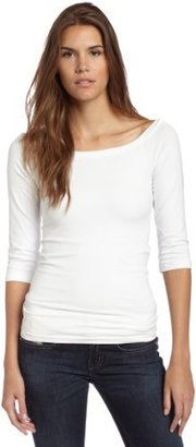 Bordeaux Women's 3/4 Sleeve Ballet Top