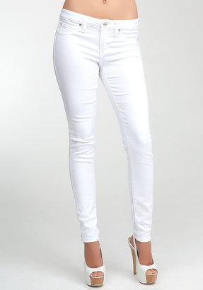 Bebe Logo Super Stretch Skinny Jeans