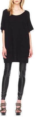 MICHAEL Michael Kors Cashmere Hi-Lo Sweater