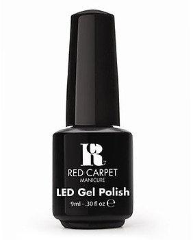 Red Carpet Manicure Gel Polish - Black Stretch Limo
