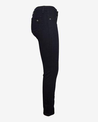 Rag and Bone Leather Jodphur Denim Skinny