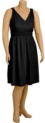 Old Navy Women's Plus Cross-Front Jersey Dresses