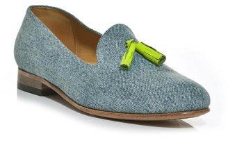 Dieppa Restrepo Gaston denim loafers