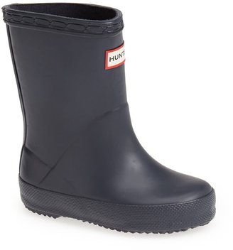 Hunter First Classic Waterproof Rain Boot