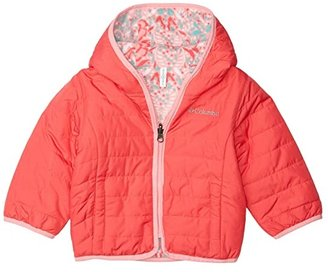 Columbia Kids Double Troubletm Jacket (Toddler) (Bright Geranium/Pink Orchid) Kid's Coat