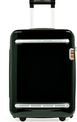 Paul Smith Dark Green/Silver-Toned Small Suitcase