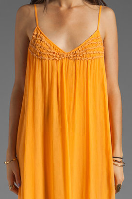 Plenty by Tracy Reese Soft Solids Embellished Slip
