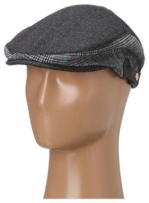 Michael Stars Trimmed Tweed Driver (Black) - Hats
