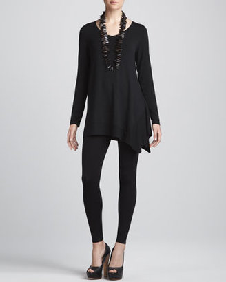 Eileen Fisher Cozy V-Neck Tunic, Women's