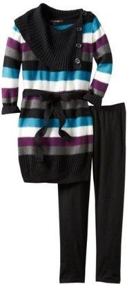 My Michelle Girls 7-16 Split Neck Sweater