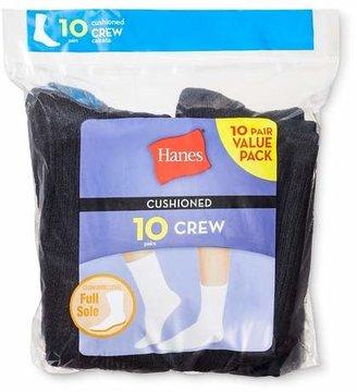 Hanes Women's 10-Pack Red Label Crew Sock