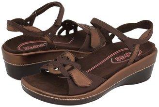 Klogs USA Santa Rita (Copper/Coffee Leather) - Footwear