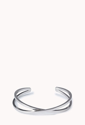 Forever 21 Abstract Twisted Cutout Cuff