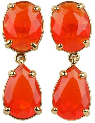 Kate Spade Plaza Athenee Drop Earrings (Red) - Jewelry