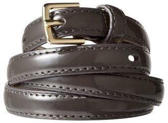 Merona Color Skinny Belt Gray