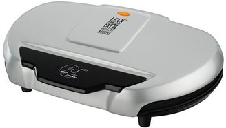 George Foreman Silver Family Value Electric Indoor Grill