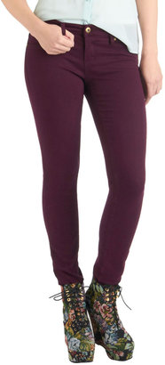 Blank NYC Fruit and Far Between Jeans in Plum