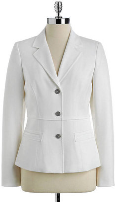 T Tahari Laurie Three-Button Jacket