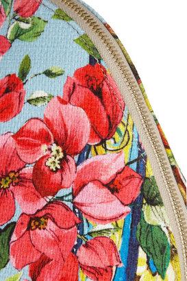 Dolce & Gabbana Escape leather-trimmed PVC tote