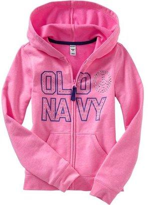 Old Navy Girls Zip-Front Hoodies