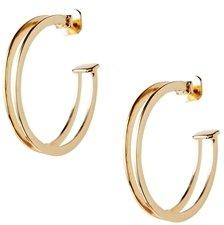 Asos Open Hoop Earrings - Gold