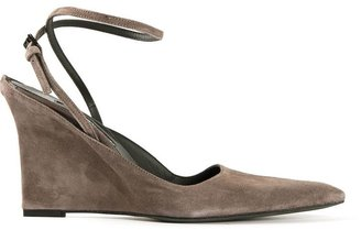 Ann Demeulemeester ankle strap sandal