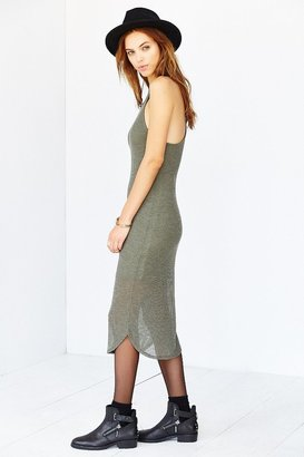 Sparkle & Fade Ribbed Racerback Tank Dress