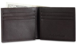 Polo Ralph Lauren Men's Accessories, Pebbled Leather Billfold Wallet