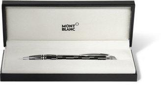 Montblanc Starwalker Black Mystery Platinum-Plated Ballpoint Pen