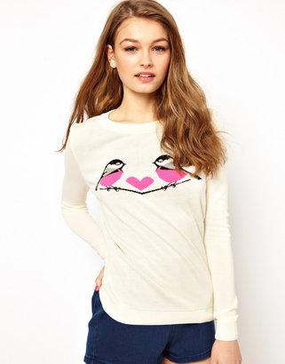 A/Wear A Wear Longsleeve Love Birds Sweater