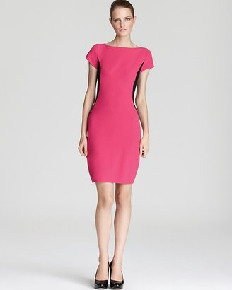 Cynthia Steffe Dress - Lida Color Block Side Panel Crepe