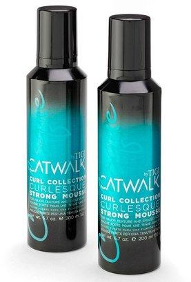 Tigi Catwalk by curl collection 2-pk. curlesque strong mousse set