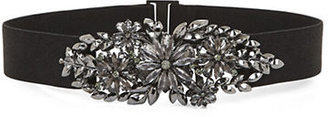 BCBGMAXAZRIA Floral Stone Waist Belt