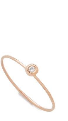 blanca monros gomez White Diamond Seed Ring