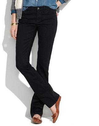 Madewell Bootlegger Jeans in Black Frost
