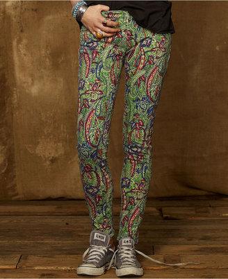 Denim & Supply Ralph Lauren Macy's Jeans, Printed Skinny