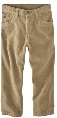 Cherokee Infant Toddler Boys Corduroy Pant - Khaki