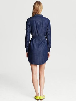 Banana Republic Chambray Shirtdress