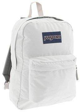 JanSport SuperBreak(r) (White) Backpack Bags