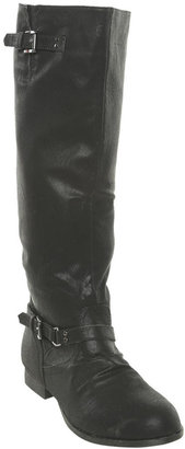Wet Seal Zip Back Riding Boot