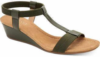 Alfani Women Step 'N Flex Voyage Wedge Sandals, Women Shoes