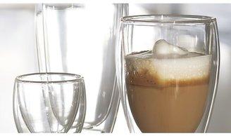 Crate & Barrel Bodum ® Pavina Glass Tumblers