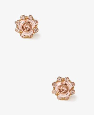 Forever 21 Rhinestoned Blooming Studs