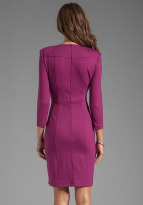 Nanette Lepore Rabat Ponte Dress