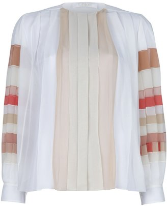Chloé pleated Blouse