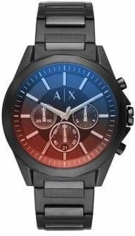 Armani Exchange Drexler Stainless Steel Chronograph Bracelet Watch